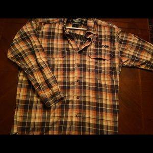 Genuine Harley-Davidson flannel shirt